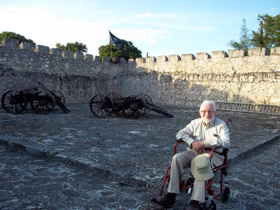 Henry at Fort Bacalar